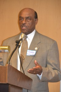 Keynote Speaker for the evening was Hampton Mayor George Wallace